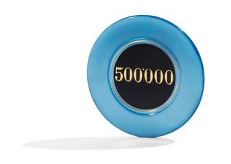 500000 casino chip