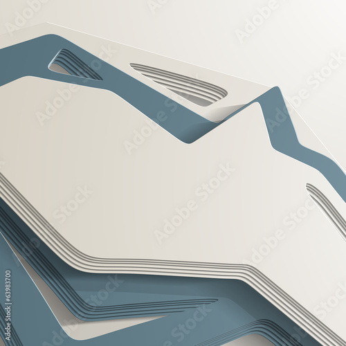3D style, abstract background with lots of layers