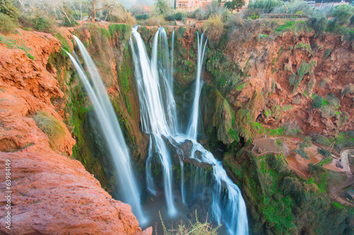 Ouzoud Waterfalls located in the Grand Atlas village of Tanaghme