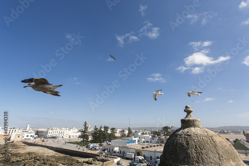 Essaouira is a city in the western Moroccan economic region of M