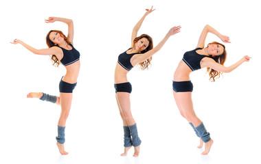 Dancing Fitness Girl.