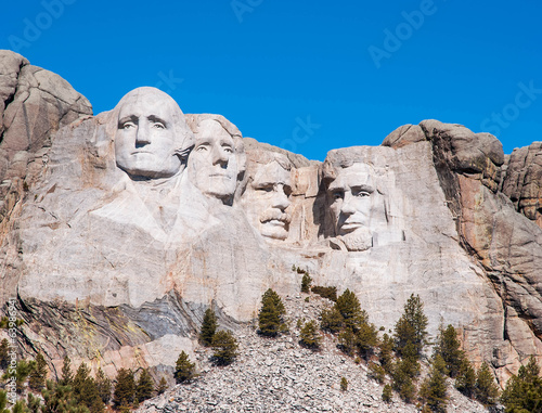 Papiers peints Statue Mount Rushmore National Monument in South Dakota. Summer day wit