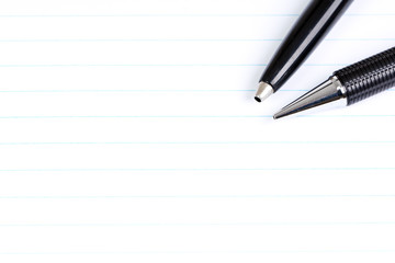 Stifte, Notizblock