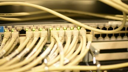 Netzwerk Hub Sicherheit