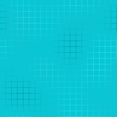Light blue grid