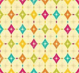 Vintage rhombus pattern
