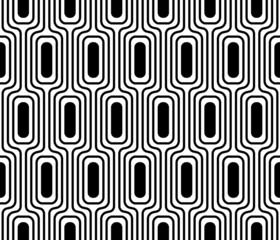Vector cellular texture. Seamless geometric pattern.