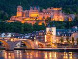 Heidelberg bei Nacht - 63989385
