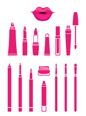 Cosmetics for beautiful lips