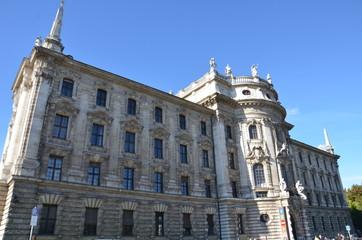 Karlsplatz, Münich, palais de Justice