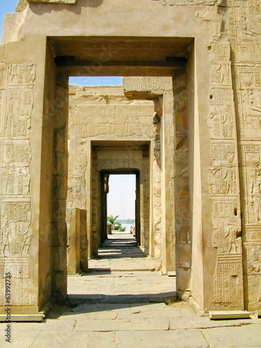 Temple of Kom Ombo, Egypt, dated 2th Century BC
