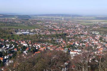 Aussicht über Bad Harzburg