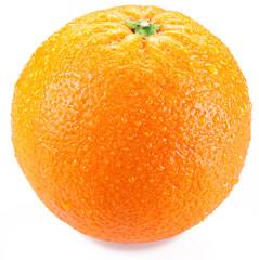 Orange isolated on a white background.