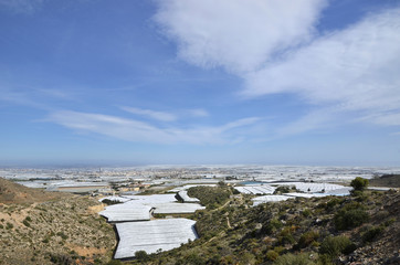 "The ""sea of plastic"" in Almeria"