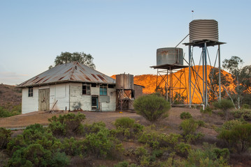 Abandoned station in the Australian Outback
