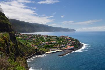Ponta Delgada town, Madeira