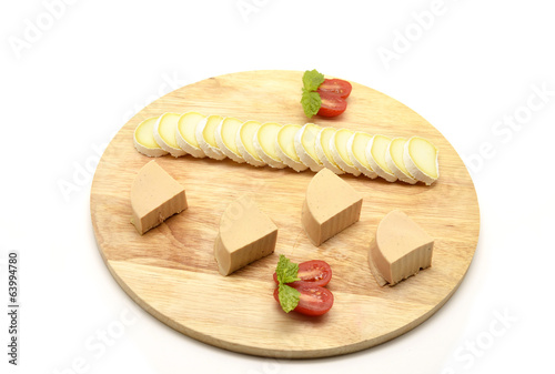 pates and cheese table