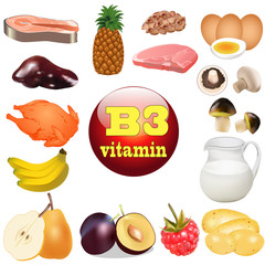 of three vitamin B. The origin of the plant foods in