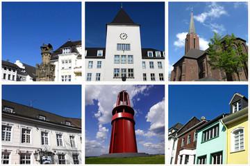 Impressionen von MOERS ( bei Duisburg )