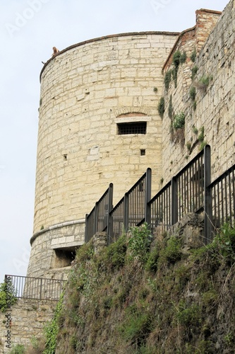 tower of the castle of Brescia in northern Italy