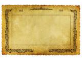 old grunge antiquarian paper