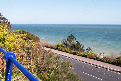 View of sea at Eastbourne, East Sussex