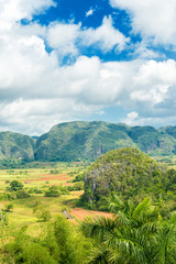 The Vinales Valley in Cuba