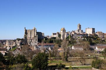 Vue de la cité médiévale de Chauvigny