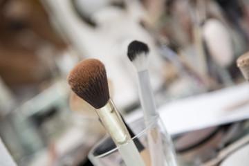 Pinceles para maquillaje profesional