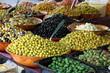 oliven und antipasti auswahl