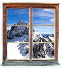 Fensterblcik Dachstein
