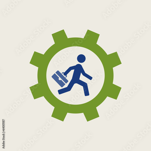 Business Flat Icon