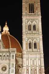The Cathedral of Santa Maria del Fiore in the night - Florence -