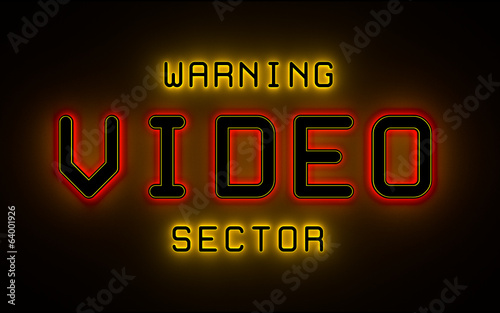warning - VIDEO - sector
