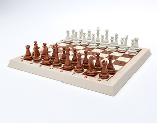 Gioco scacchi in 3D