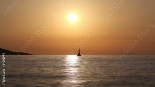 Adriatic sea sunset