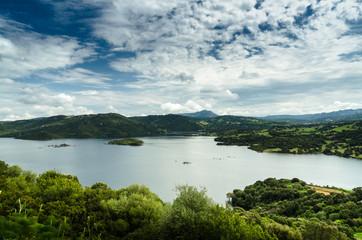 Sardegna, Gallura, lago di Liscia