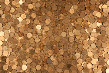 coins background one