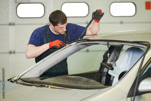 windshield windscreen replacement works
