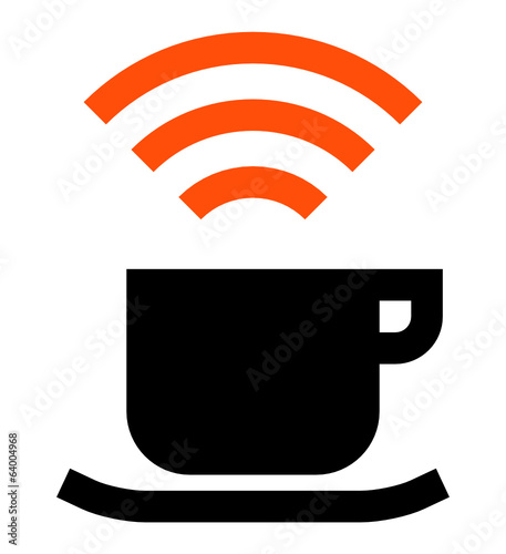 Internet cafe vector icon