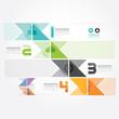 Modern Design Minimal style info-graphic template.