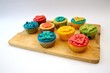 canvas print picture - Cupcakes