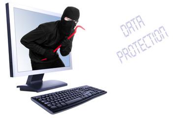 Burglar in computer