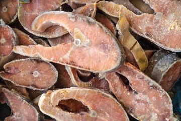 Frozzen fish