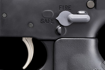 carbine trigger and safety