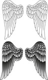 Wings tattoo - 64011944