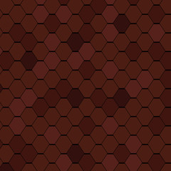 Clay Roof Tiles Seamless Texture.