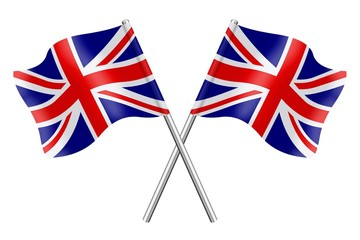 Two British flags