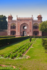 Gate to Itmad-Ud-Daulah's Tomb(Baby Taj) at Agra,India