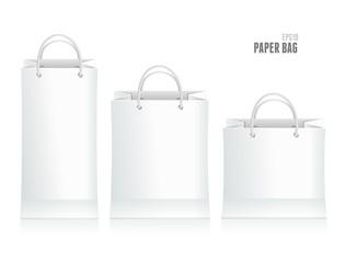 Vector illustration of shopping paper bag